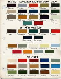 Pin By Norvan Curtis On Triumph Tr6 Car Paint Colors