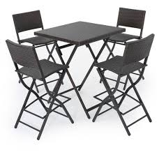 target patio bar set. Brilliant Patio Margarita 5pc AllWeather Wicker Patio Bar Set  Brown Christopher Knight  Home To Target O