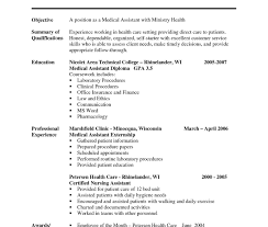 Medical Resumeate Assistant Awesome Fresh Curriculum Vitae Word ...