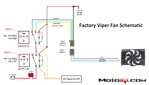 project viper gts part 5 radiator fan wiring upgrade > motoiq factory fan wiring schematic