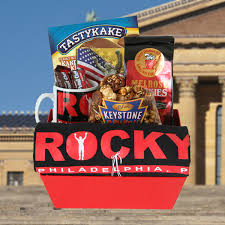 rocky basket with t shirt