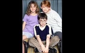 rupert grint and emma watson and daniel radcliffe then and now. Fine And August 23 2000 Emma Watson Rupert Grint And Daniel Radcliffe Attend A  Photocall For And Watson Then Now N