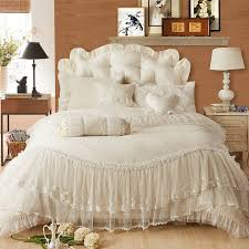 bedding set king size quality skirt black directly from china bedding set suppliers lace bedding set bed skirt duvet cover pillowcase if