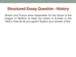 "o level history practice paper 5 structured essay question history""britain"