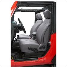 bestop charcoal custom tailored front seat covers for 2007 12 jeep wrangler jk 2 door unlimited 4 door models