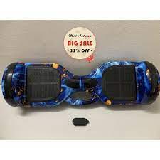 Xe cân bằng tự động 6.5 inch Bluetooth ⚡ FREESHIP⚡ có LED và Bluetooth kết  nối điện thoại phát nhạc - Xe đạp, Xe chòi chân & Xe điện