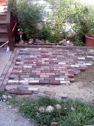 antique brick patio brick paver patio