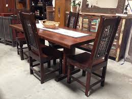 solid wood dining table chairs best of room real sets on with regard distressed white upholstered mission slim kitchen and round tables wooden