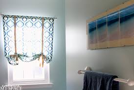 Roman Blind Diy How To Make Roman Blinds Diy Roman Shade From Mini Blinds The