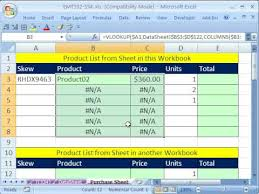 Ms Excel Invoice How To Make An Invoice From An External Product List In