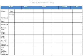 company vehicle maintenance log car maintenance template car maintenance schedule sample printable