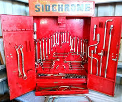 vintage sidchrome wall cabinet with