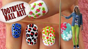 5 Basic Nail Art Designs Toothpick Nail Art 5 Nail Art Designs Ideas Using Only A