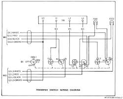 figure 2 6 transfer switch wiring diagram transfer switch wiring diagram