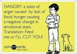 Hungry Quotes Gorgeous HANGRY Funny Hungry Quotes Ecards Pinderful