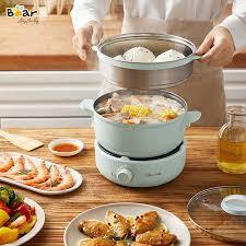 Nồi nấu đa năng Bear DHG-B25Z1 - Bếp điện kết hợp