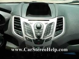 ford fiesta stereo removal 2011 2013