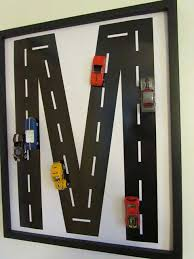 diy race car wall art hdi kids projects inspired by car tracks 2