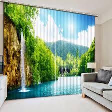 Natur Landschaft Vorhänge Moderne Wohnzimmer Schlafzimmer Vorhänge