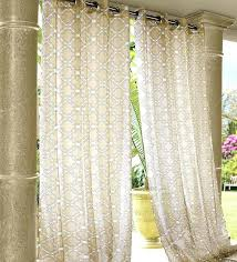 outdoor sheer curtains our durable wrought iron grommet top