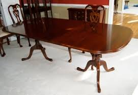 beautiful design ideas pennsylvania house dining room set cherry table chairs rasmus auctioneers dinning 1990 queen anne
