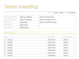 Managers Meeting Agenda Template Brilliant Team Meeting Agenda Template With List Of Agenda Items And 7