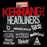 Kerrang Radio Chart Kerrang Headliners