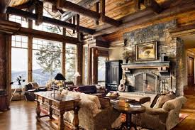 traditional interior home design. Combines Rustic Interior Design And Traditional Decor Attractive  Complement Each Other, Blending Two Or More Styles Of Can Create An Home