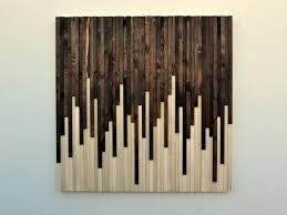 modern rustic wall decor elegant rustic wood wall art wood sculpture wall by moderntextures of modern