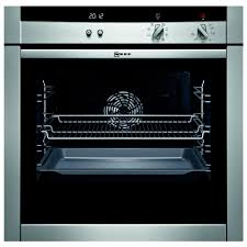 neff b45m52n3gb single electric fan oven with slide and hide door 67 litre