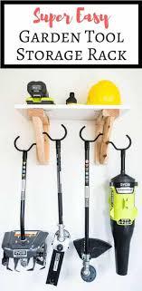 blog pendidikan diy garden tools rack