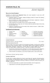 Telemetry Nurse Resume Examples Rn Sample Pictures Hd Aliciafinnnoack