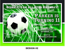 Soccer Party Invitation Template 043 Template Ideas Football Ticket Birthday Invitation Free