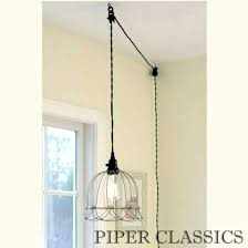 Best Pendant Lighting Impressive Light Fixtures Plug Intended For  Throughout Plug In Ceiling Light Fixtures Ideas