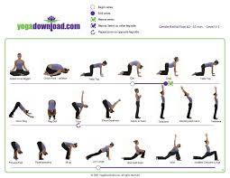 Basic Yoga Poses Chart 5 Downloadable Yoga Pose Sequences For All Levels Basic