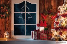 Led Fensterbild Tannenbaum Weihnachten Fensterdeko Beleuchtet 20x16 Cm