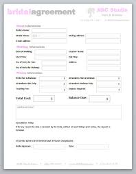 Simple Professional Services Agreement Template Awesome Hair Stylist ...