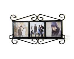 Decorative Tile Frames Personalised photo gift frame Ceramic Tile Photo in Faux Wood 33