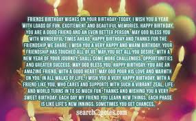 Long Birthday Wishes Custom Lengthy Quotes About Friendship
