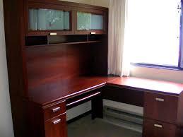 corner office desk with hutch. Full Size Of Desk \u0026 Workstation, Build Computer With Hutch Office Solid Wood Thedigitalhandshake Corner N