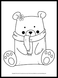Download and print free girls coloring pages. Cute Coloring Pages Free Printables The Art Kit