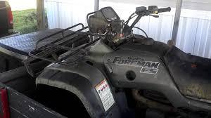 2001 honda foreman 450es rebuild youtube 2001 Honda Foreman 450 Parts at 2001 Honda Foreman 450 Es Wiring Diagram