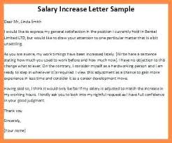 pay raise letter samples ideas of salary increase letter salary adjustment letter sample