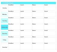 Monthly Planning Calendar Template