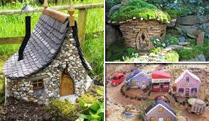 garden houses. 17 cutest miniature stone houses to beautify garden this summer