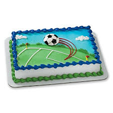 Mini Soccer Ball Decorations Inspiration Amazon Decopac Extreme Soccer Magnet DecoSet Cake Topper Toys
