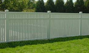 Vinyl privacy fence Mahogany  9 Vinyl Fence 01 Mn Fence Company Minneapolis St Paul Privacy Fences Minneapolis St Paul
