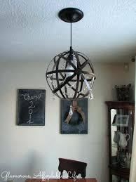 orb light fixture crystal iron orb chandelier orb light fixture diy orb light