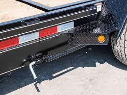 15000 gvwr deluxe wood floor tilt equipment trailer by kaufman 7-Way Trailer Plug Wiring Diagram at Trailer Wiring Harness Kaufman