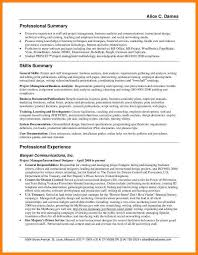 Summary Of Qualification How To Write A Qualifications Summary